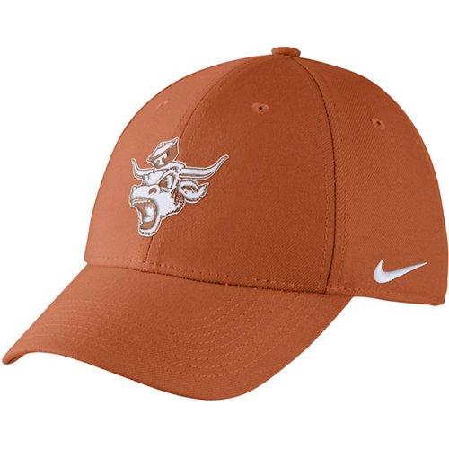 Nike Men's University of Texas Dri-FIT Wool Classic99 Swoosh Flex Cap