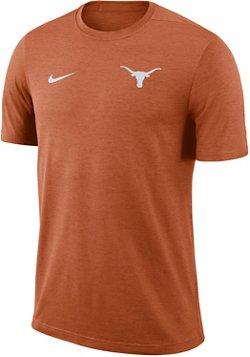 Nike Men's University of Texas Dry Coaches Short Sleeve T-shirt