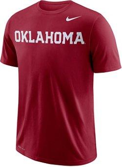 Nike Men's University of Oklahoma Wordmark T-shirt