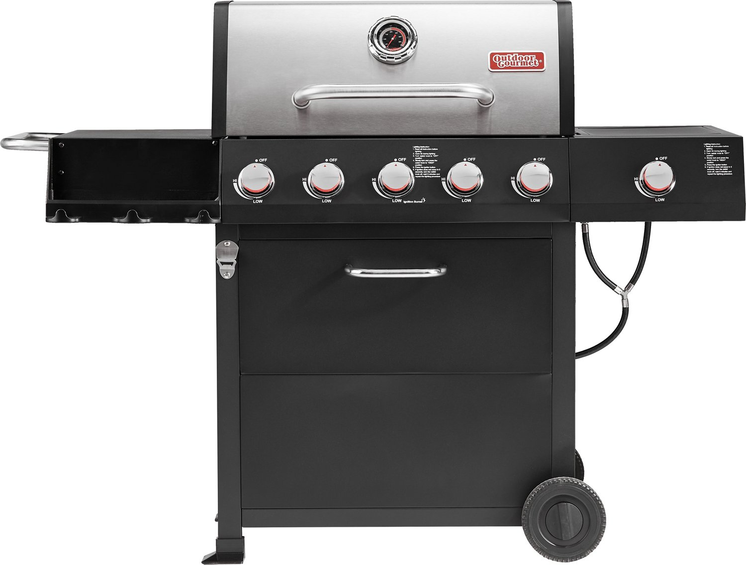 Outdoor Gourmet 5-Burner Gas Grill - view number 4