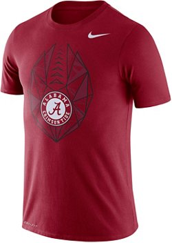 Nike Men's University of Alabama Dri-FIT Cotton Football Icon T-shirt