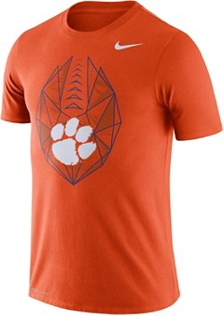 Nike Men's Clemson University Dri-FIT Cotton Football Icon T-shirt