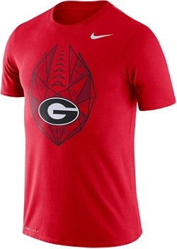 Nike Men's University of Georgia Dri-FIT Cotton Football Icon T-shirt