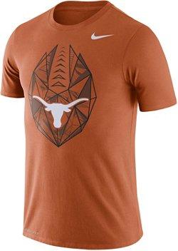 Nike Men's University of Texas Dri-FIT Cotton Football Icon T-shirt