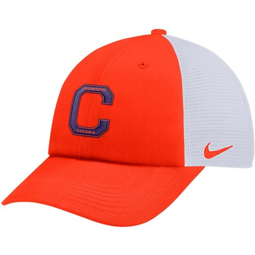 buy popular dfc97 21783 ... low price nike mens clemson university heritage86 adjustable trucker hat  5a725 25e6c