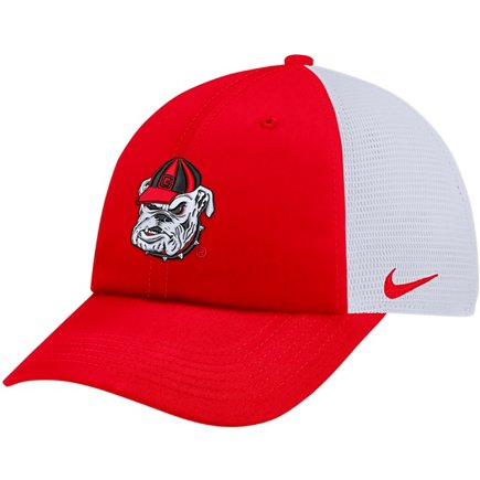 4cee9643dd0c7 ... store nike mens university of georgia heritage86 adjustable trucker hat  f4fa1 5c66c