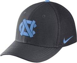 Nike Men's University of North Carolina AeroBill Classic99 Swoosh Flex Meshback Cap