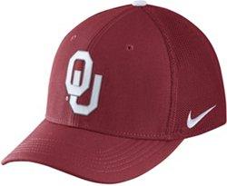 Nike Men's University of Oklahoma AeroBill Classic99 Swoosh Flex Meshback Cap