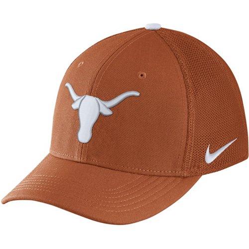 Nike Men's University of Texas AeroBill Classic99 Swoosh Flex Meshback Cap