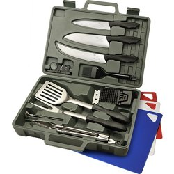 Cut-N-Que 14-Piece Grill Set