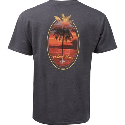 Guy Harvey Men's Flame Graphic T-shirt