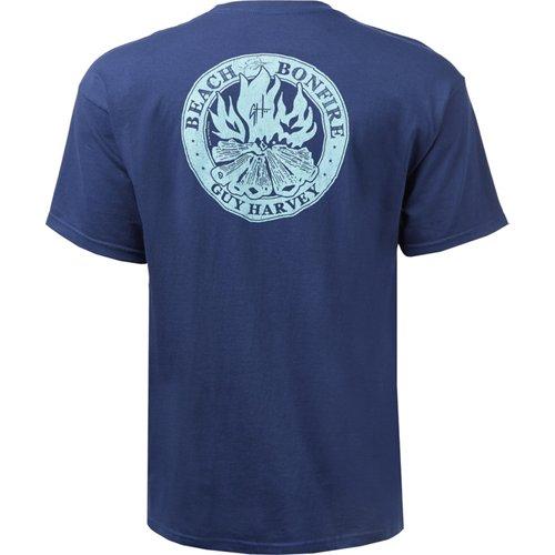 Guy Harvey Men's Beach Bonfire T-shirt