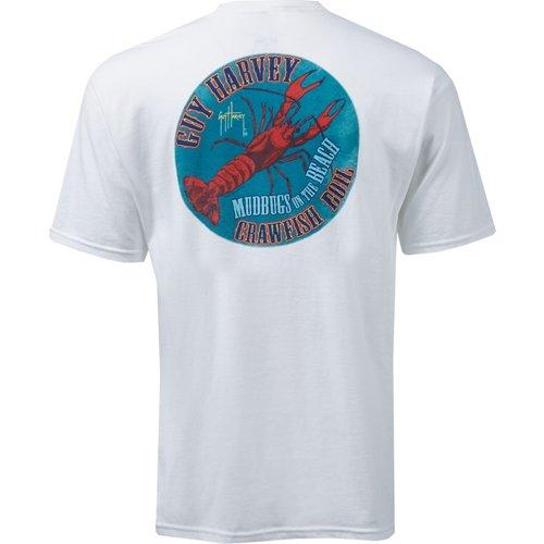 Guy Harvey Men's Mudbugs T-shirt