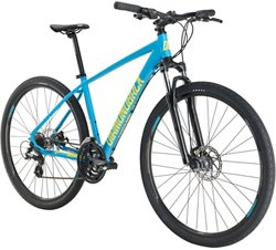 Diamondback Adults' Trace 700c 21-Speed Dual-Sport Hybrid Bike