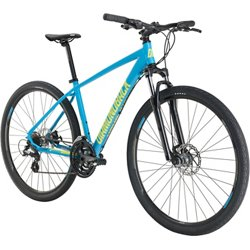 Adults' Trace 700c 21-Speed Dual-Sport Hybrid Bike