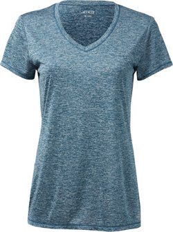 BCG Women's Heather V-neck Training Tech T-shirt