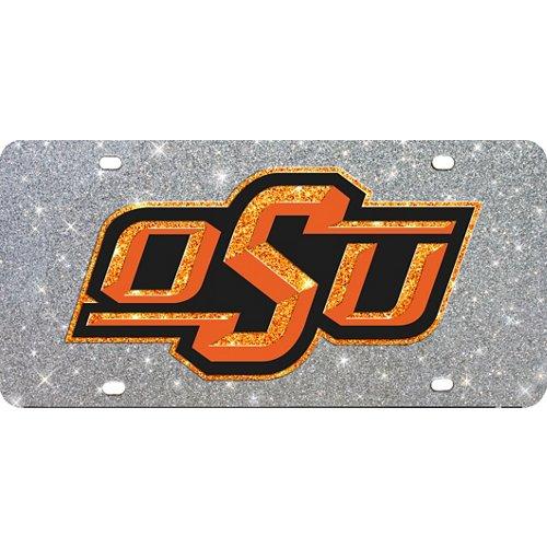 Stockdale Oklahoma State University Glitter License Plate