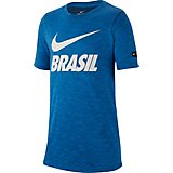 Nike Boys' Brazil CBF Futura Dri-FIT T-shirt