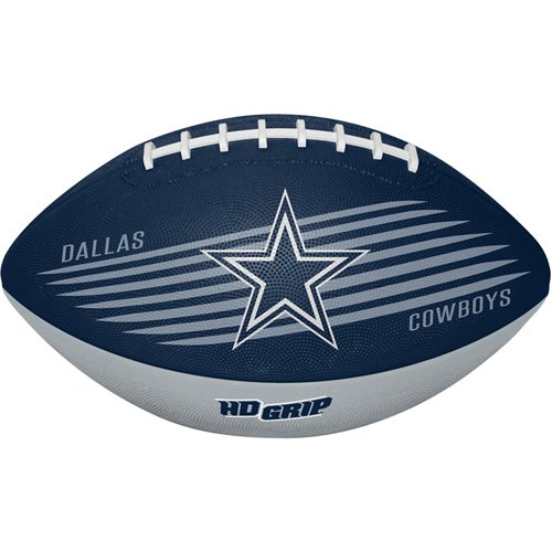 Rawlings Youth Dallas Cowboys Downfield Rubber Football