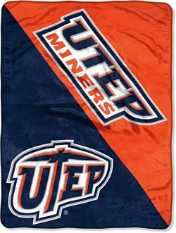 The Northwest Company University of Texas at El Paso Halftone Micro Raschel Throw