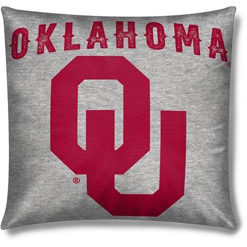 The Northwest Company University of Oklahoma Sweatshirt Knit Pillow