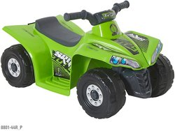 Toddler Boys' Surge 6 V Little Quad Ride-On Toy