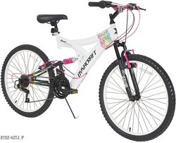 Dynacraft Girls' Rip Curl 24 in 21-Speed Mountain Bicycle