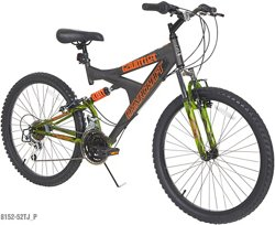 Dynacraft Boys' Gauntlet 24 in 21-Speed Mountain Bicycle