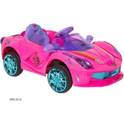 Girls' 6 V Trolls Super Coupe Ride-On Vehicle