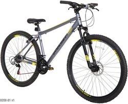 """Dynacraft Men's 2wenty N9ne Front Shock 29"""" 21-Speed Bike"""