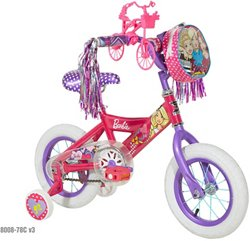 Girls' Barbie 12 in Bicycle