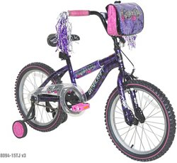 Dynacraft Girls' Mysterious 18 in BMX Bicycle