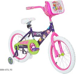 Dynacraft Girls' Shopkins 18 in BMX Bicycle