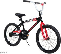 Boys' Throttle 20 in BMX Bicycle
