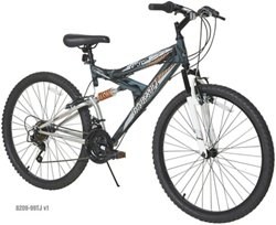 Dynacraft Men's Silver Canyon 26 in 21-Speed Mountain Bicycle