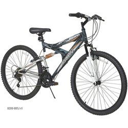Men's Silver Canyon 26 in 21-Speed Mountain Bicycle