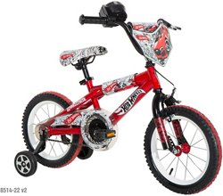 Hot Wheels Boys' 14 in BMX Bicycle