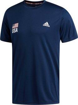 adidas Men's Team USA Volleyball Replica T-shirt