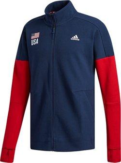 adidas Men's USA Volleyball Warm Up Jacket