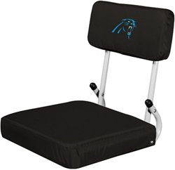 Logo Carolina Panthers Hardback Stadium Seat