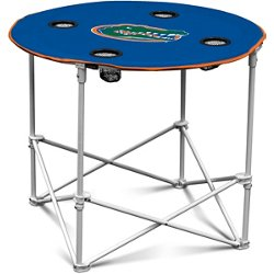 University of Florida Round Portable Table