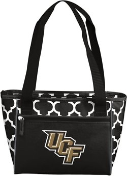 Logo University of Central Florida Quatrefoil 16-Can Cooler Tote