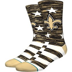 Men's New Orleans Saints Banner Crew Socks