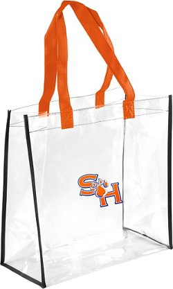 Forever Collectibles Sam Houston State University Clear Reusable Bag