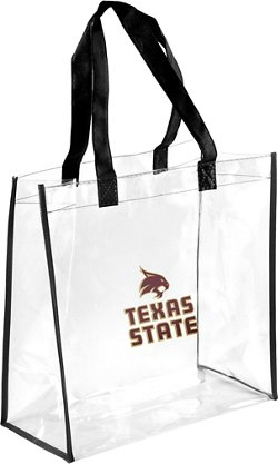 Forever Collectibles Texas State University Clear Reusable Bag