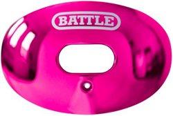Battle Adults' Chrome Oxygen Football Mouth Guard