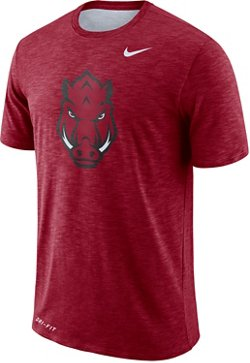Nike Men's University of Arkansas Slub Sideline T-shirt