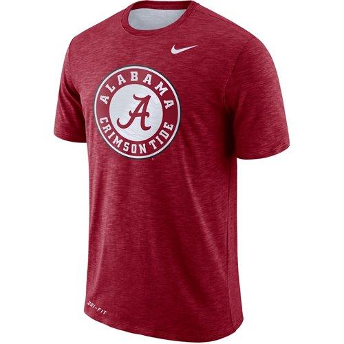 Nike Men's University of Alabama Slub Sideline T-shirt