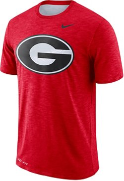 Nike Men's University of Georgia Slub Sideline T-shirt