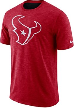 Nike Men's Houston Texans Dri-FIT Cotton Slub T-shirt